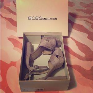 BCBGeneration Microsuede Heels